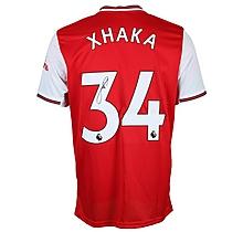 19/20 Xhaka Boxed Signed Shirt