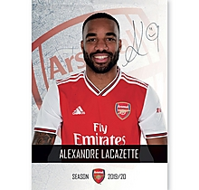 Arsenal 19/20 Headshot Lacazette