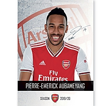 Arsenal 19/20 Headshot Aubameyang