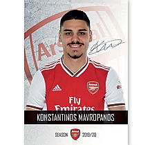 Arsenal 19/20 Headshot Mavropanos