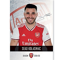 Arsenal 19/20 Headshot Kolasinac
