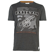 Arsenal Since 1886 Geo Cannon T-Shirt