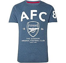 Arsenal Since 1886 AFC Crest T-Shirt