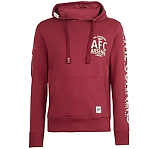 Arsenal Since 1886 Gunners Sleeve Print Hoody