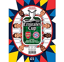 Emirates Cup Programme 2019