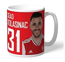 Arsenal Personalised Kolasinac Mug