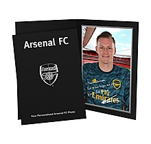 Arsenal Personalised Leno Photo Folder