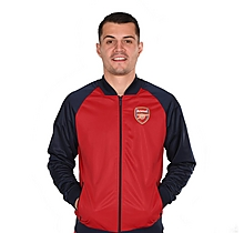 Arsenal Leisure Contrast Sleeve Jacket