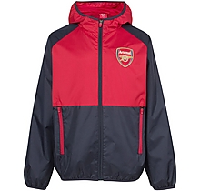 Arsenal Kids Leisure Classic Shower Jacket