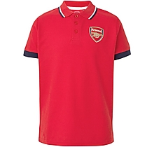 Arsenal Kids Leisure Classic Crest Polo