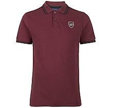 Arsenal Since 1886 Tipped Polo Shirt
