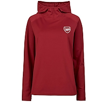 Arsenal Womens Leisure Classic Red Hoody