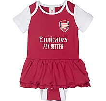 Arsenal Baby Tutu Sleepsuit