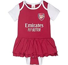 Arsenal Baby Tutu Sleepsuit