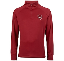Arsenal Kids Leisure Classic Red 1/4 Zip Top
