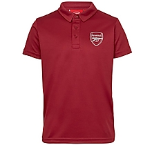 Arsenal Kids Leisure Classic Red Polo