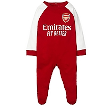Arsenal Baby Kit Sleepsuit