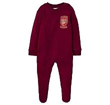Arsenal Baby Retro 2006 Highbury Sleepsuit