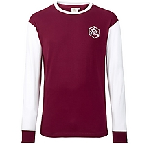 Arsenal Retro 1930s Crest LS T-Shirt