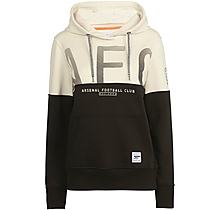 Arsenal Womens Since 1886 Contrast Hoody Cream