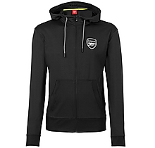 Arsenal Leisure Tricot Black Hoody