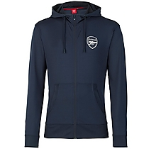 Arsenal Leisure Tricot Hoody Navy