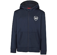 Arsenal Kids Leisure Tricot Hoody Navy (4-13yrs)