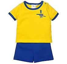Arsenal Baby Retro 1970s Away Set