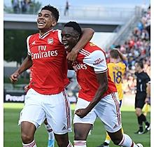 Arsenal Match-Worn Shirt V Colorado Rapids - Olayinka