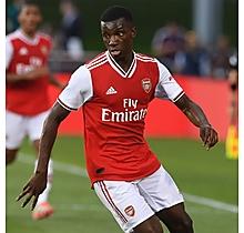 Arsenal Match-Worn Shirt V Colorado Rapids - Nketiah