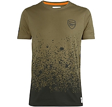 Arsenal Since 1886 Splatter T-Shirt