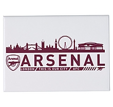 Arsenal London Skyline Jumbo Fridge Magnet