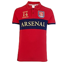 Arsenal Heritage Invincible Henry 14 Polo