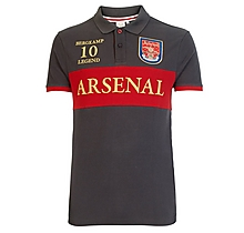 Arsenal Heritage Invincible Bergkamp 10 Polo