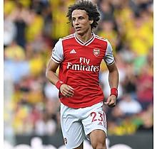Arsenal Match Worn Shirt V Watford - DAVID LUIZ