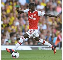 Arsenal Match Worn Shirt V Watford - PEPE