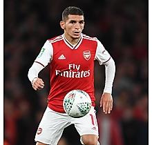 Arsenal Match Worn Shirt v Nottingham Forest - TORREIRA