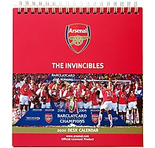 Arsenal 2020 Desk Calendar