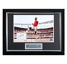 Lacazette 19/20 Framed Signed Print