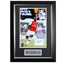 Pepe 19/20 Framed Signed Print