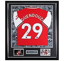 Guendouzi 19/20 Framed Signed Shirt