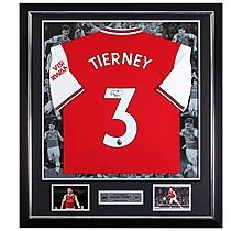 Tierney 19/20 Framed Signed Shirt