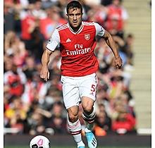 Arsenal Match Worn Shirt v Bournemouth - SOKRATIS