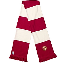 Arsenal Retro Crest Jacquard Bar Scarf
