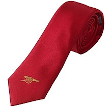 Arsenal Silk Red Tie