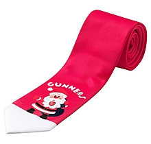 Arsenal Novelty Santa Tie