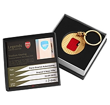 Aubameyang Match Worn Shirt Stadium Keyring