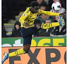 Arsenal Match Worn Shirt V Sheffield Utd - SAKA