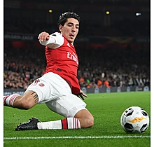 Arsenal Match Worn Shirt V Vitoria - BELLERIN
