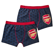 Arsenal Twin Pack Boys Boxers